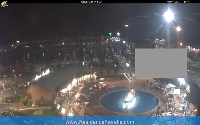 Cattolica – Hafenpanorama Webcam Live